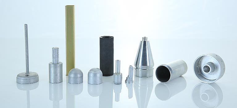Metal and aluminum extruded parts